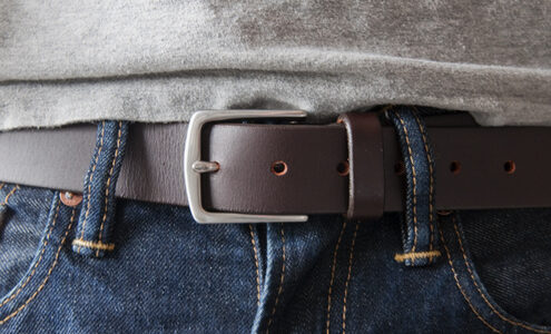 HOW TO MAKE A HOLE IN A BELT